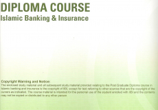 Postgraduate Diploma in Islamic Banking and Insurance